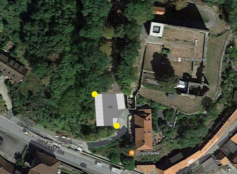 Parkplatz an der Burgschänke wird ausgebaut – Salzderhelden.de