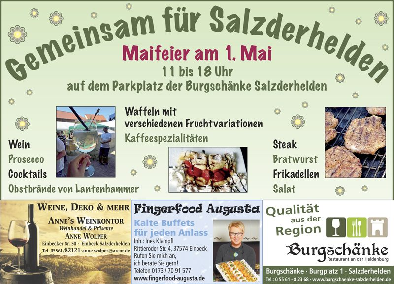 Gemeinsam feiern – Salzderhelden.de