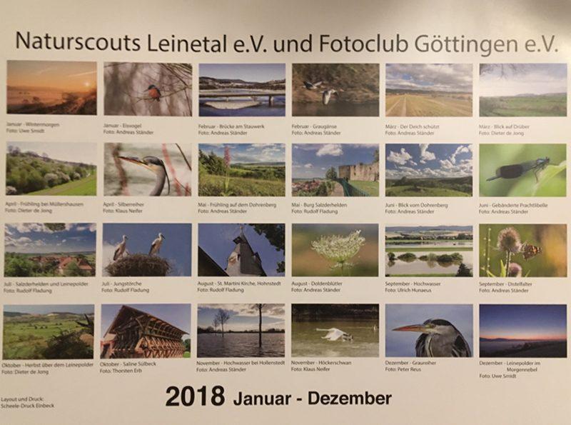 Leinepolder als Kalender 2018 – Salzderhelden.de